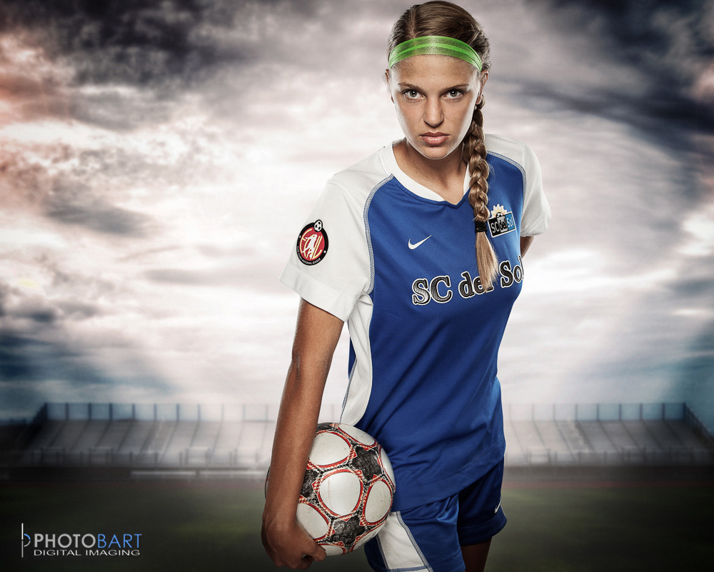 Photograph Mary Claire - Soccer Player by Paul Bartell on 500px