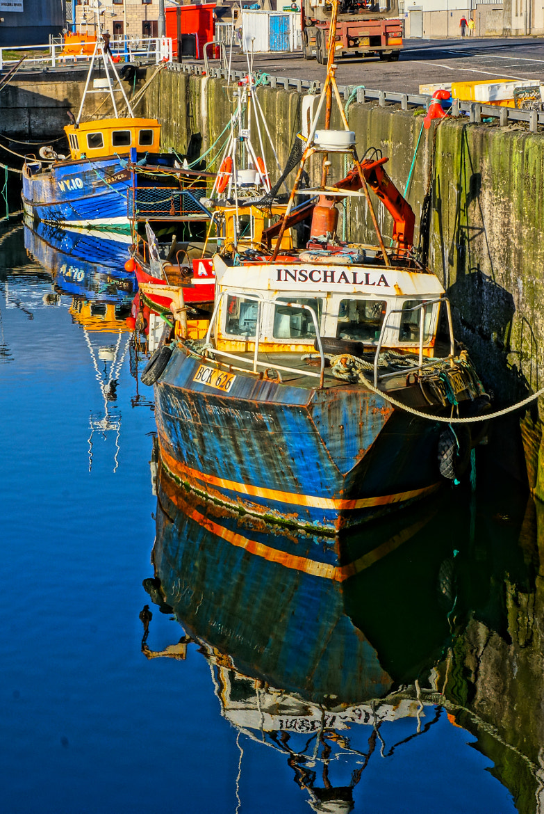 Photograph Inschalla, Buckie Harbour. by Spey Images on 500px