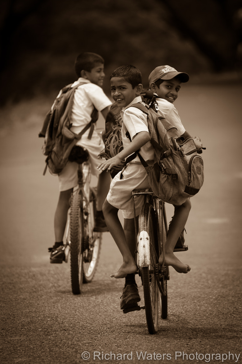 Photograph Heading home from school by Richard Waters on 500px