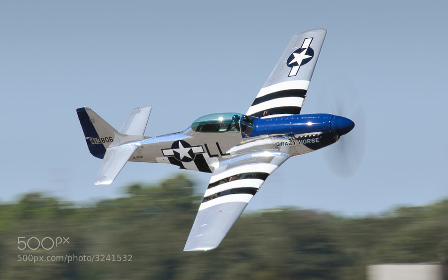 TF-51 Mustang Crazy Horse 2 at the 2011 NAS Pensacola Blue Angels Homecoming Airshow