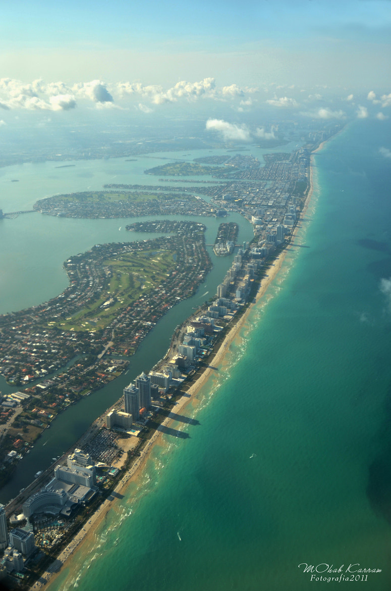 Photograph Arial shot of Miami Beach by MOhab Karram on 500px
