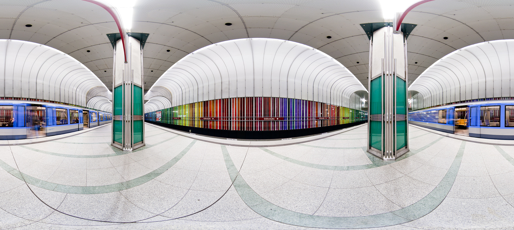 Photograph Dülfer 360° with train by Marco Opitz on 500px