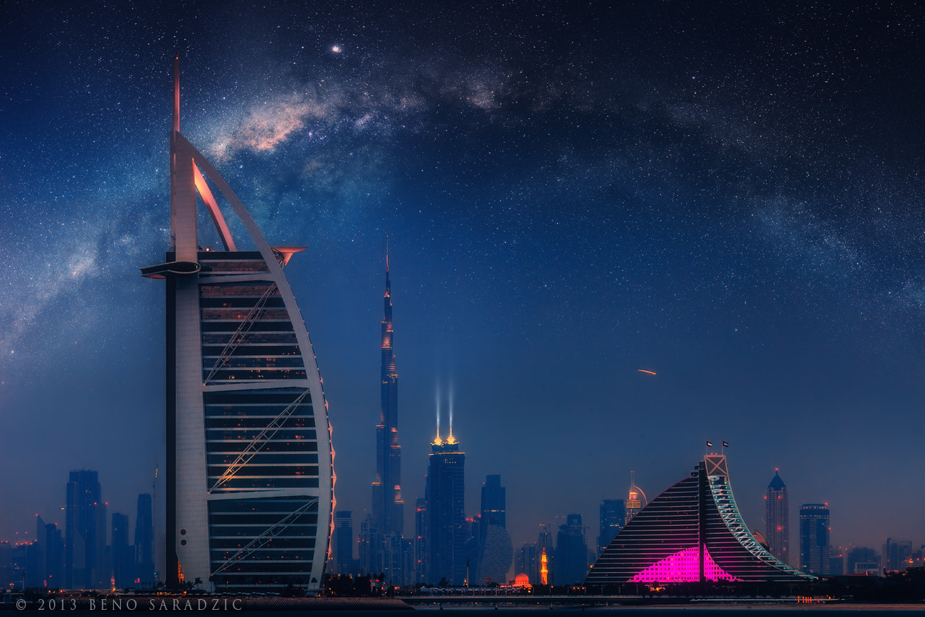 Photograph Dubai Galactic by Beno Saradzic on 500px