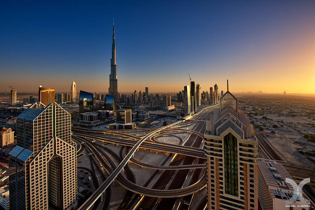 Photograph Dubai :: The Golden Hour by Daniel Cheong on 500px