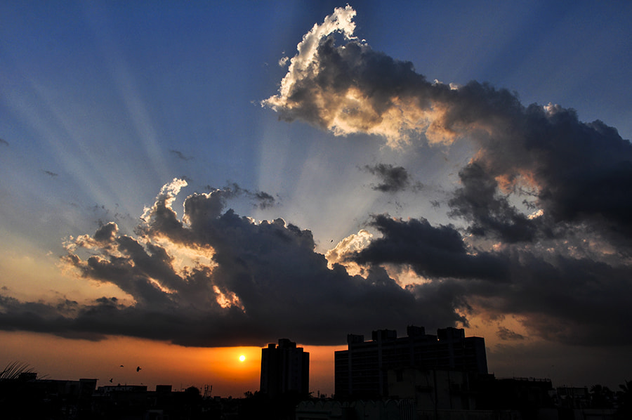 Photograph As The Sun Goes Down by Sourik Ghosh on 500px