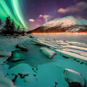 Frozen fjord by Joris Kiredjian on 500px.com