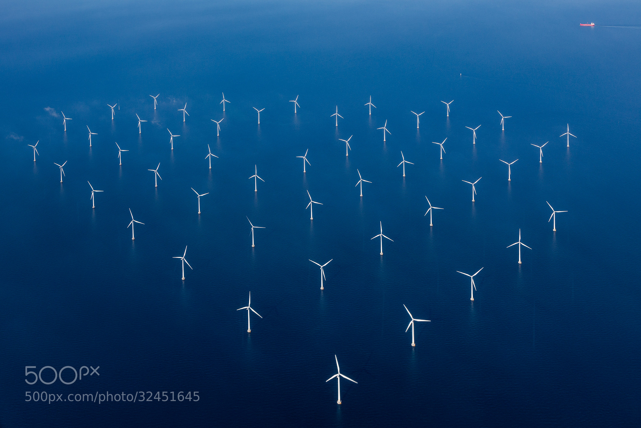 Photograph Windmills of the sea by Steen Rasmussen on 500px