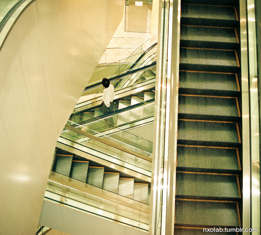 Photograph escalator in Japan by NxO Lab.  on 500px