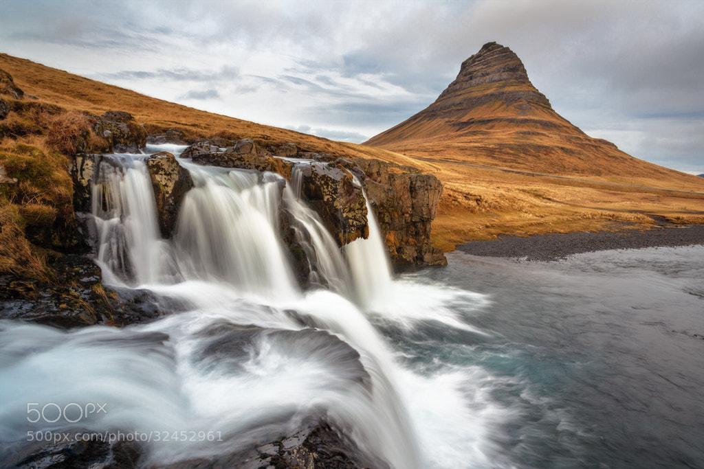 Photograph Kirkjufellfoss, Iceland by Simon Byrne on 500px