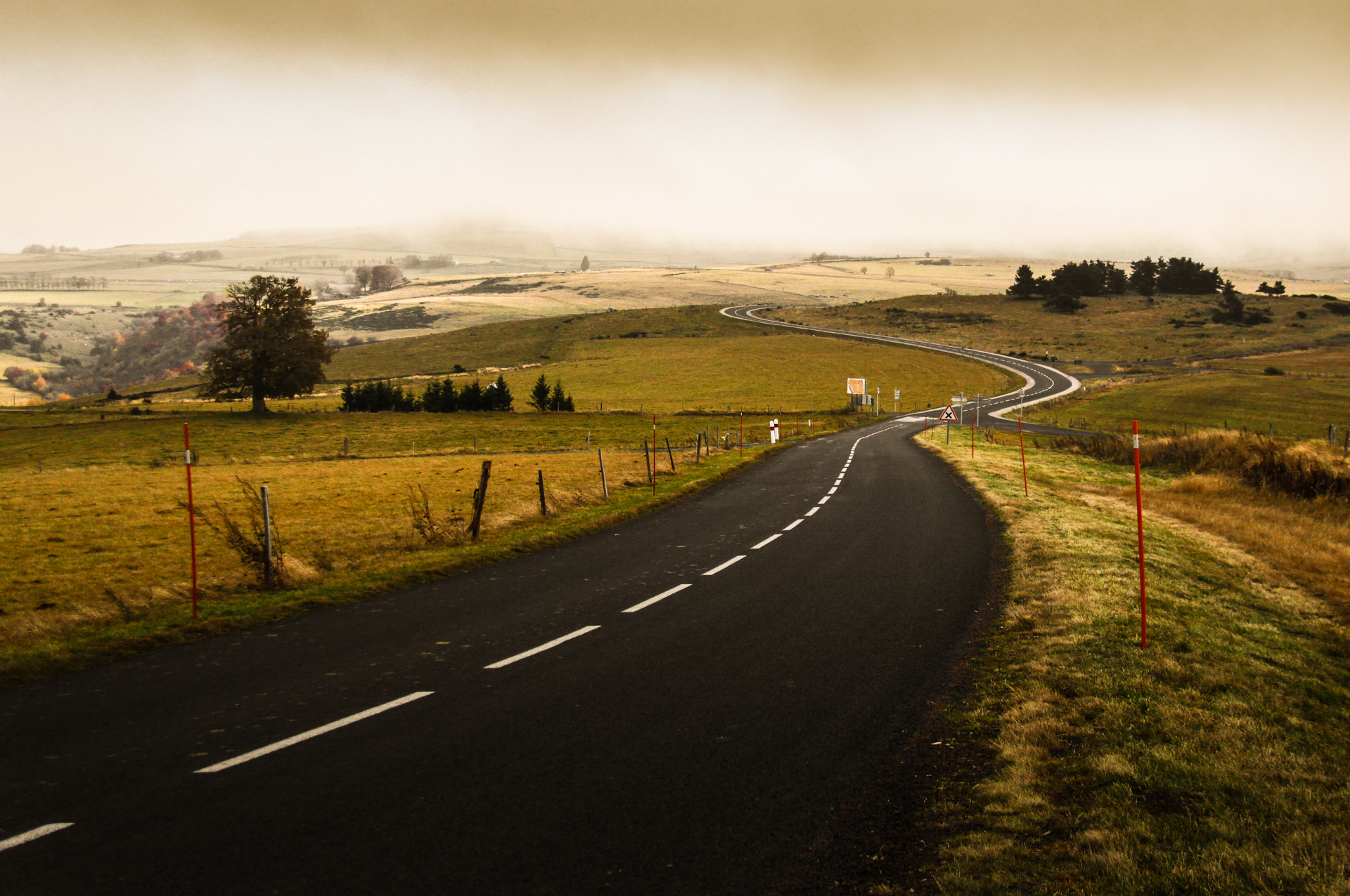 Photograph Road to the foggy land by Jacques Szymanski on 500px