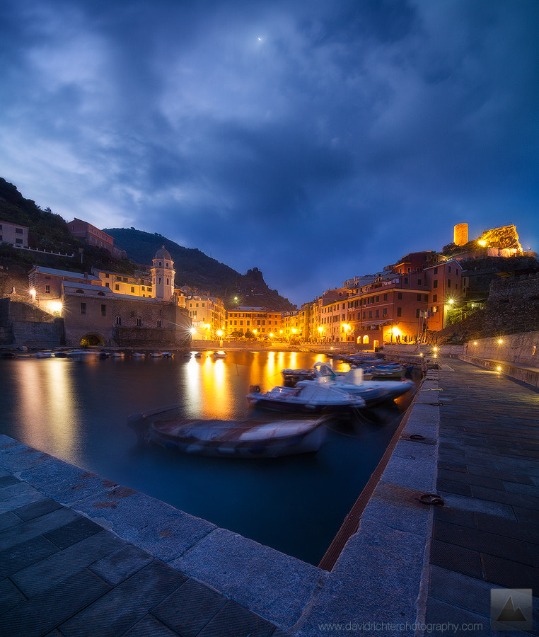 Photograph Vernazza Daybreak by David Richter on 500px