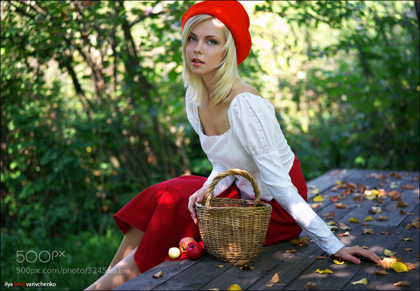 Little Red Riding Hood by Ilya Varivchenko (viv)) on 500px.com