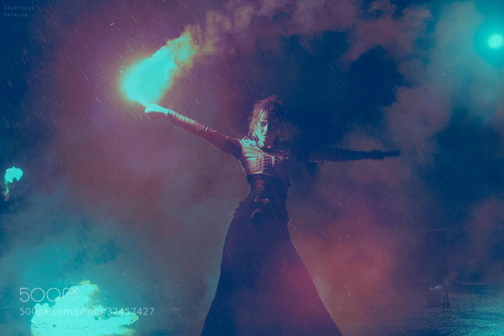 Photograph Night Fire by Natasha Daurtseva on 500px