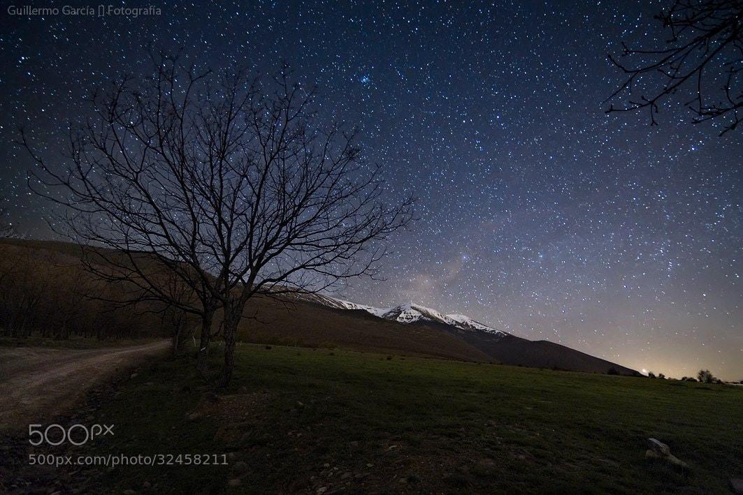 Photograph Magical night by Guillermo  García Delgado on 500px
