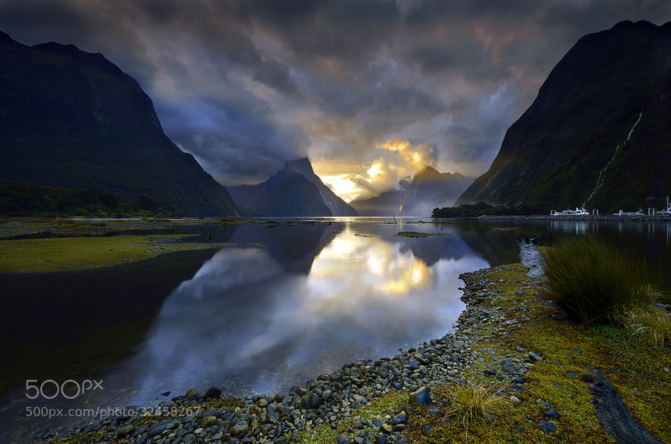 Photograph Milford sound by sarawut Intarob on 500px