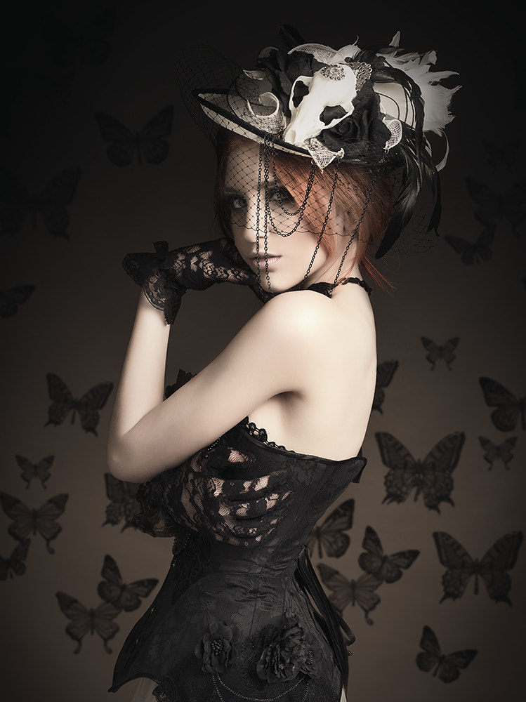 Photograph Black butterflies by Rebeca  Saray on 500px