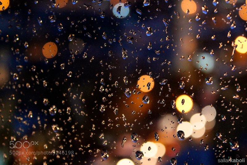 Photograph The rainy window - 2 by Sallar Kaboli on 500px