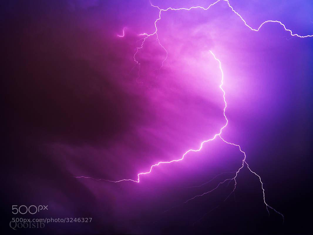 Photograph Lightening  by raz has on 500px