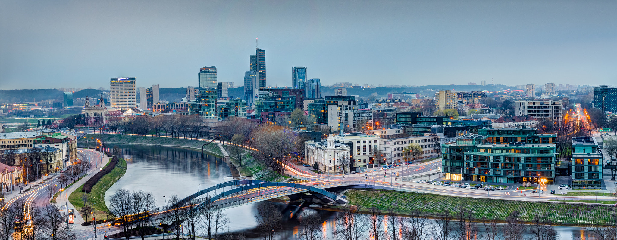 Photograph Silver Vilnius by Norbert Durko on 500px