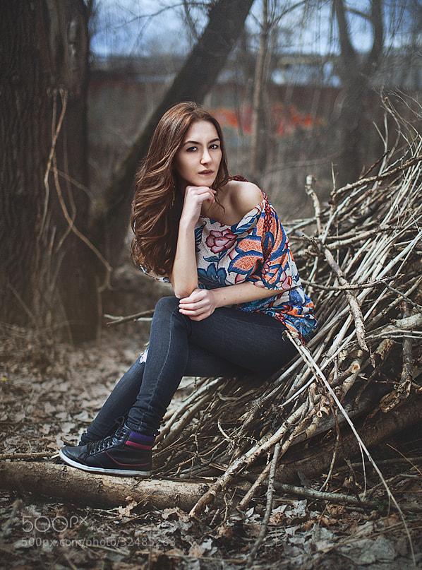 Photograph Karina by Sergey Kotelnikov on 500px