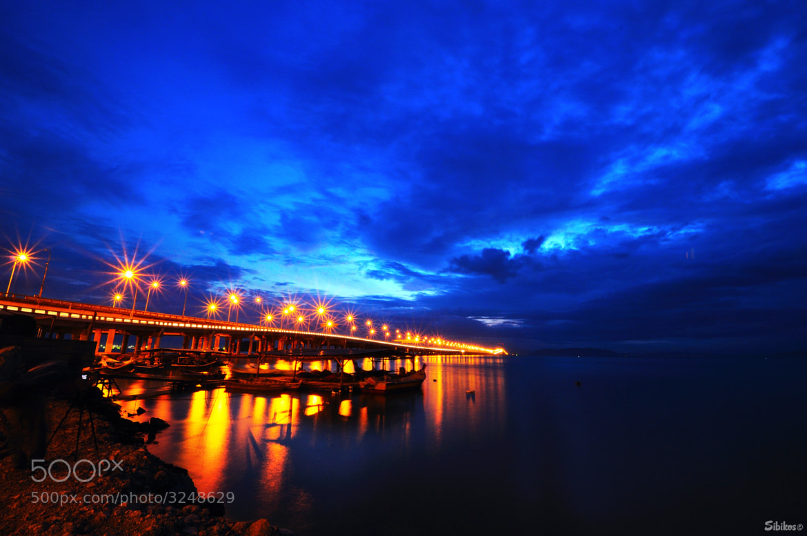 Photograph Penang bridge at dawn by Sibikos Kosmetik on 500px