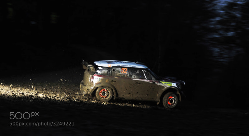 Photograph WRC Mini by allan squires on 500px