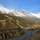 Постер, плакат: Sunrise at Annapurnas