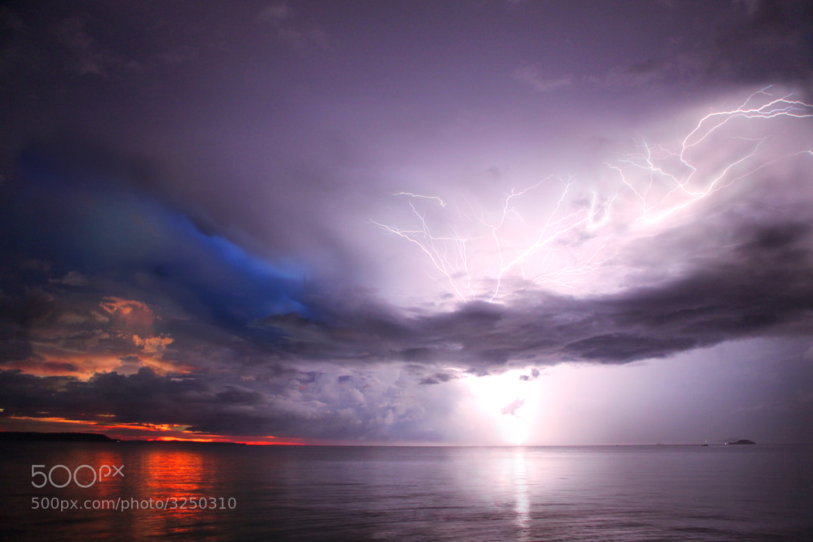 Photograph Lightning Beach, PH by Ejay Williams on 500px