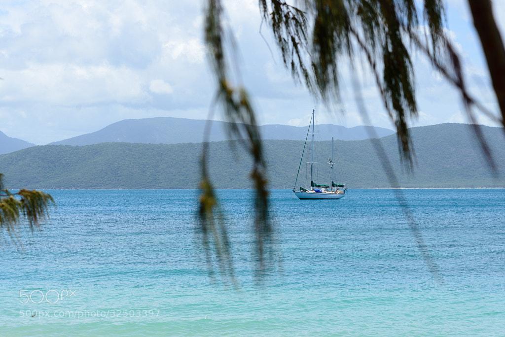 Photograph Australie #Fitzroy Island #Voilier by Jean-François Garbez on 500px