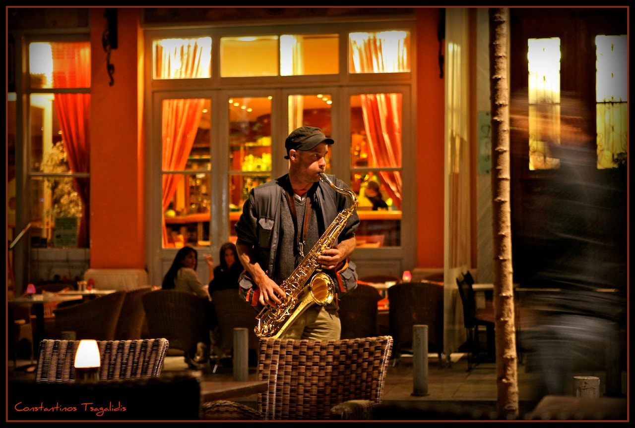 Photograph Street Music - Athens Greece by Konstantinos Tsagkalidis on 500px
