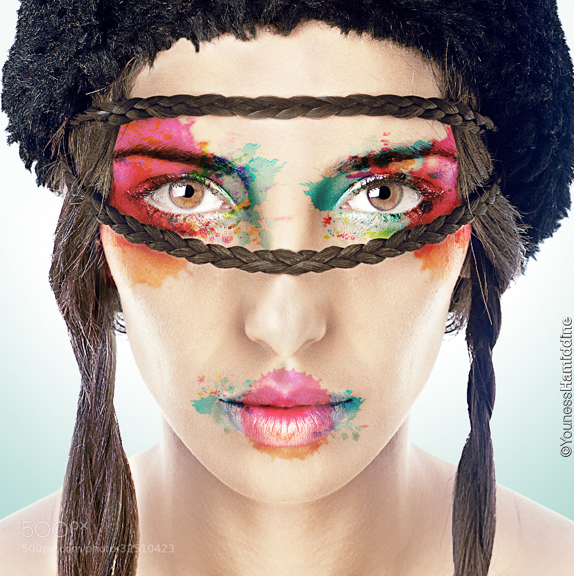 Photograph Digital makeup artist by Youness Hamiddine on 500px