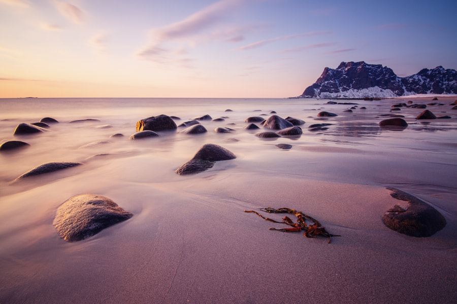 Uttakleiv Beach, Lofoten by Morten Rustad on 500px.com