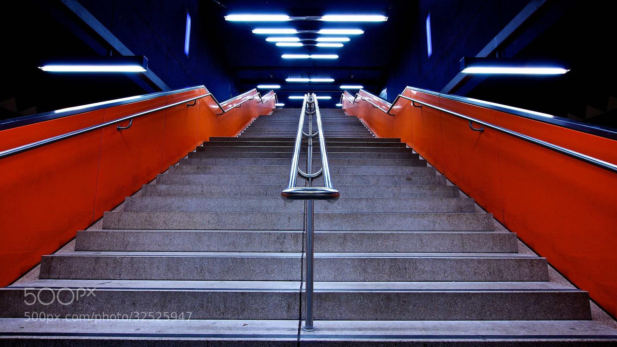 Photograph Stairs & Orange II by Thomas Bonfert on 500px
