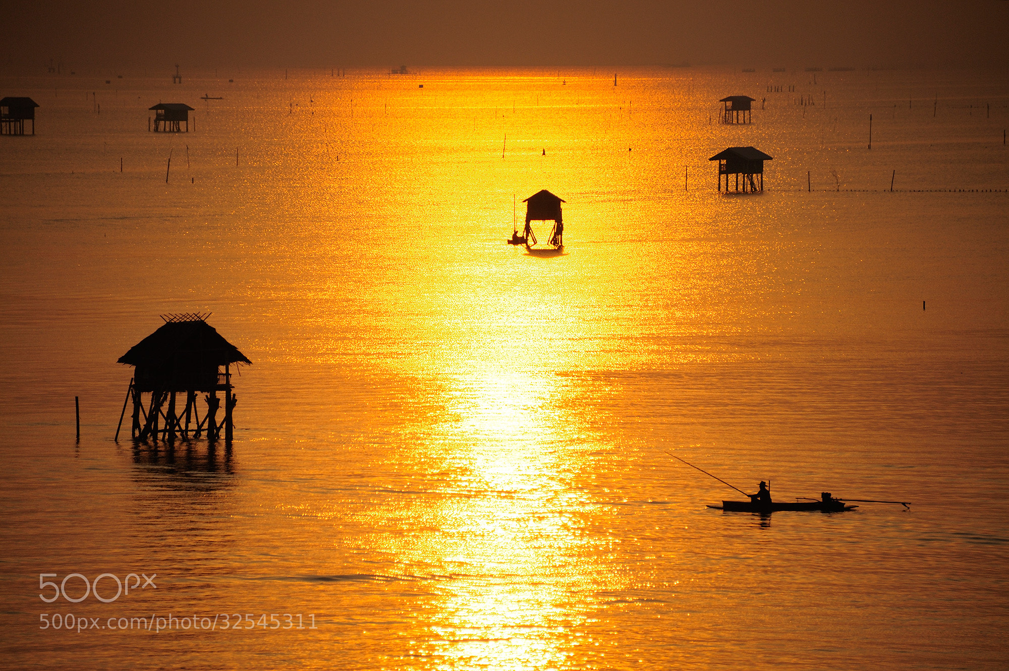 Photograph The fisherman by Puchong Pannoi on 500px