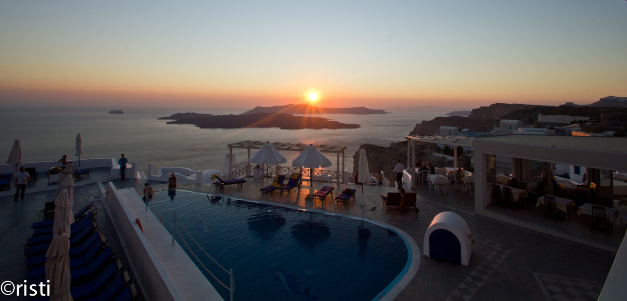 Photograph Sunset in Santorini by Cristi T on 500px