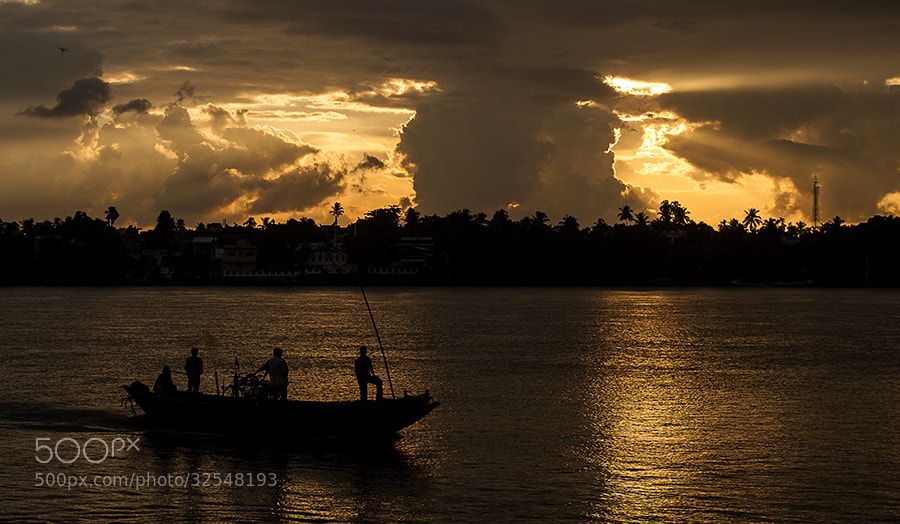 Photograph Golden Dusk by _Ronnie on 500px