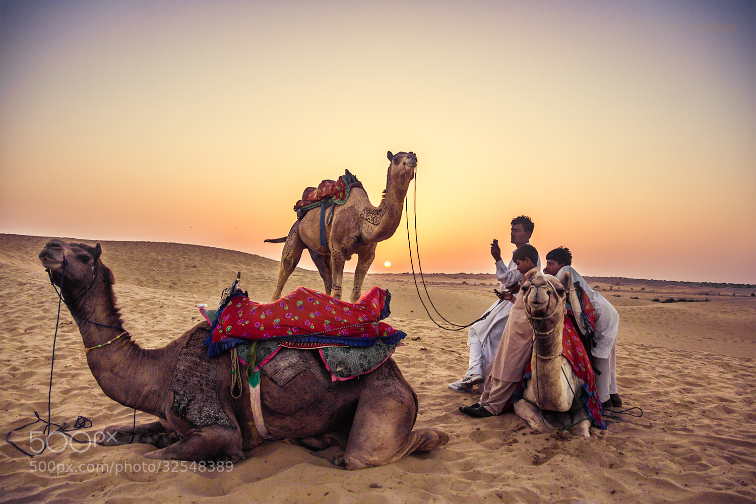 Photograph Sam Sand Dunes by Aman Dhingra on 500px