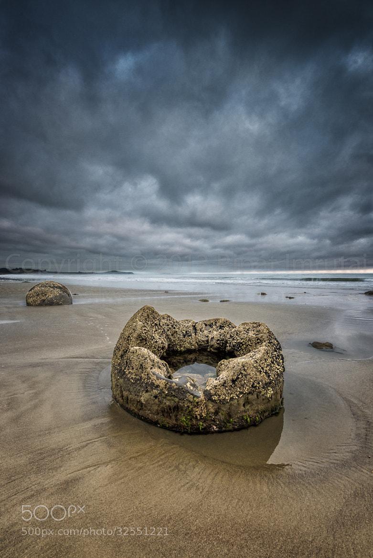 Photograph Broken Bounder at Moeraki by Patrick Imrutai on 500px