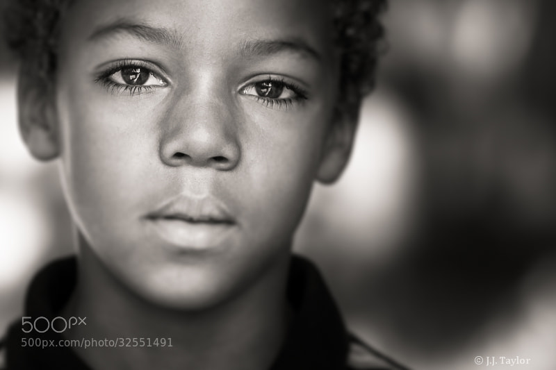 Photograph Sometimes the eyes say it all by J.J. Taylor on 500px