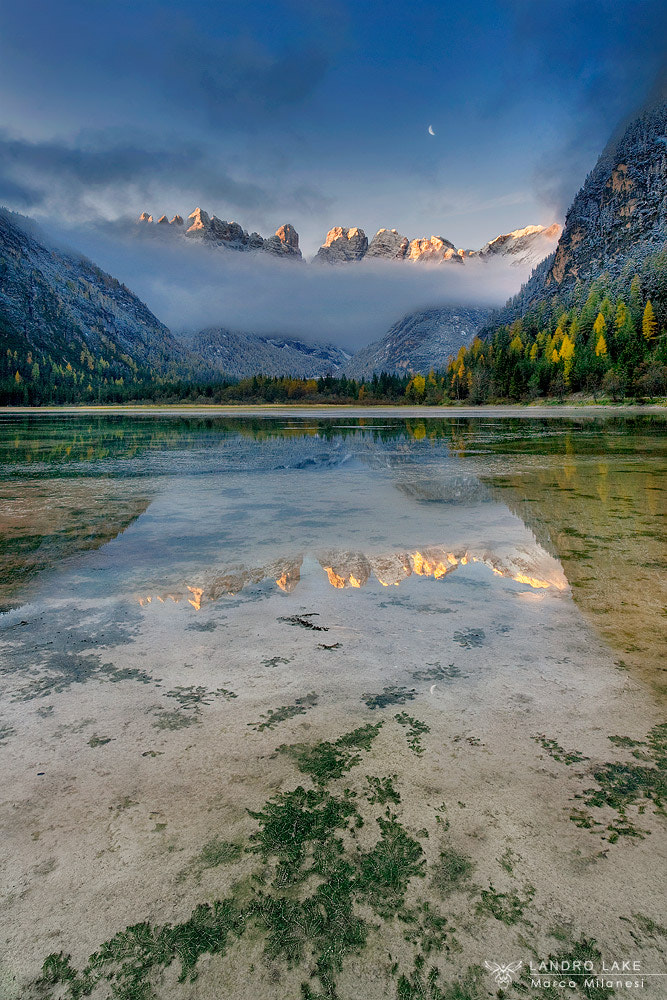 Photograph Landro lake by Marco Milanesi on 500px