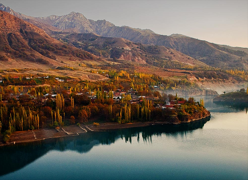Photograph Evening at mountain village by Otabek Yuldashev on 500px
