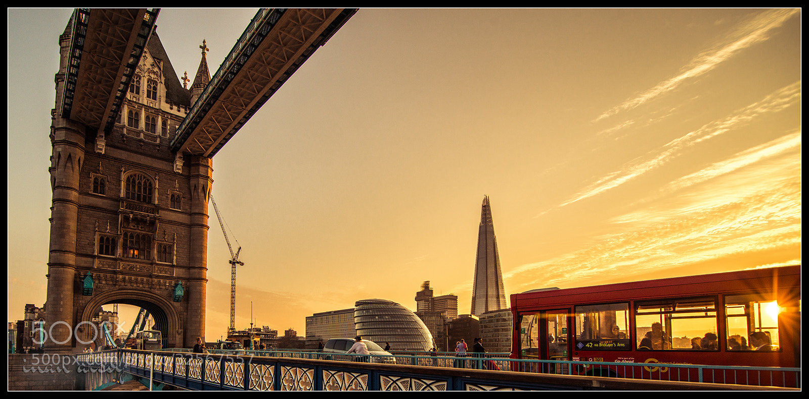 Photograph Tower Bridge & Bus 42 by Inan Aksoy on 500px