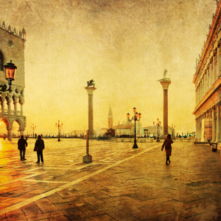 sunrise in Venice II