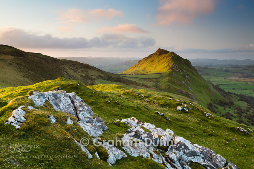Photograph Chrome Hill from Tor Rock - Peak District by Graham Dunn on 500px