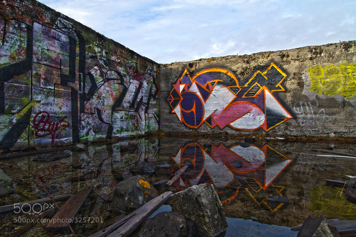 Photograph Graffiti by Agust Ingvarsson on 500px