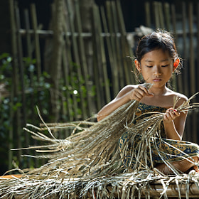 Prepare Plaiting Materials by I Gede Lila Kantiana (gedelila)) on 500px.com