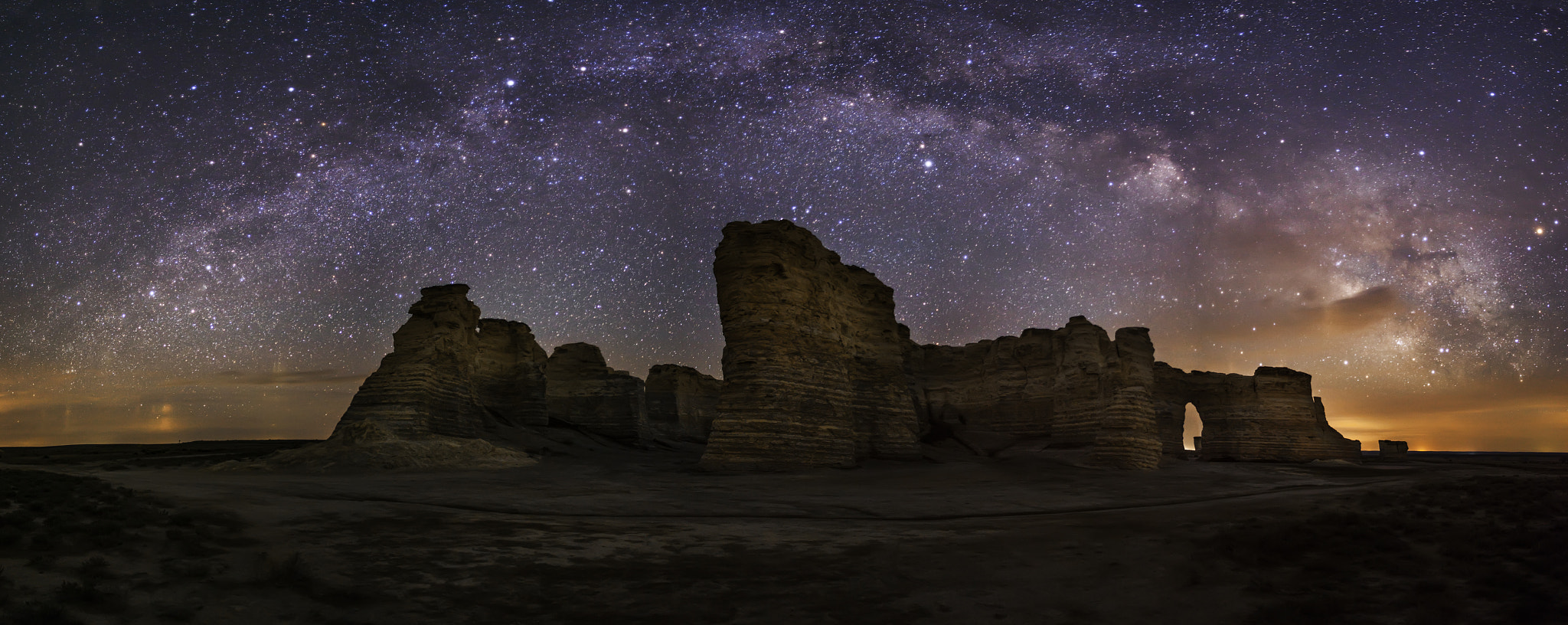 Photograph Monument Rocks and the Way by Scott Ackerman on 500px