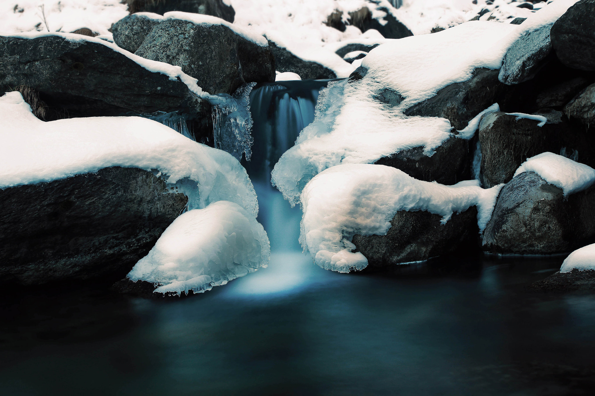 Photograph Ice Waterfall by Giamma Broilo on 500px