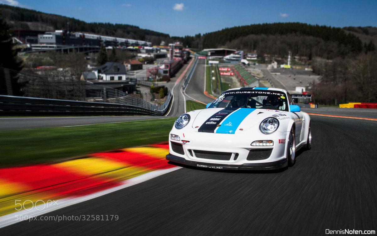 Photograph Porsche GT3 CUP  by Dennis  Noten on 500px