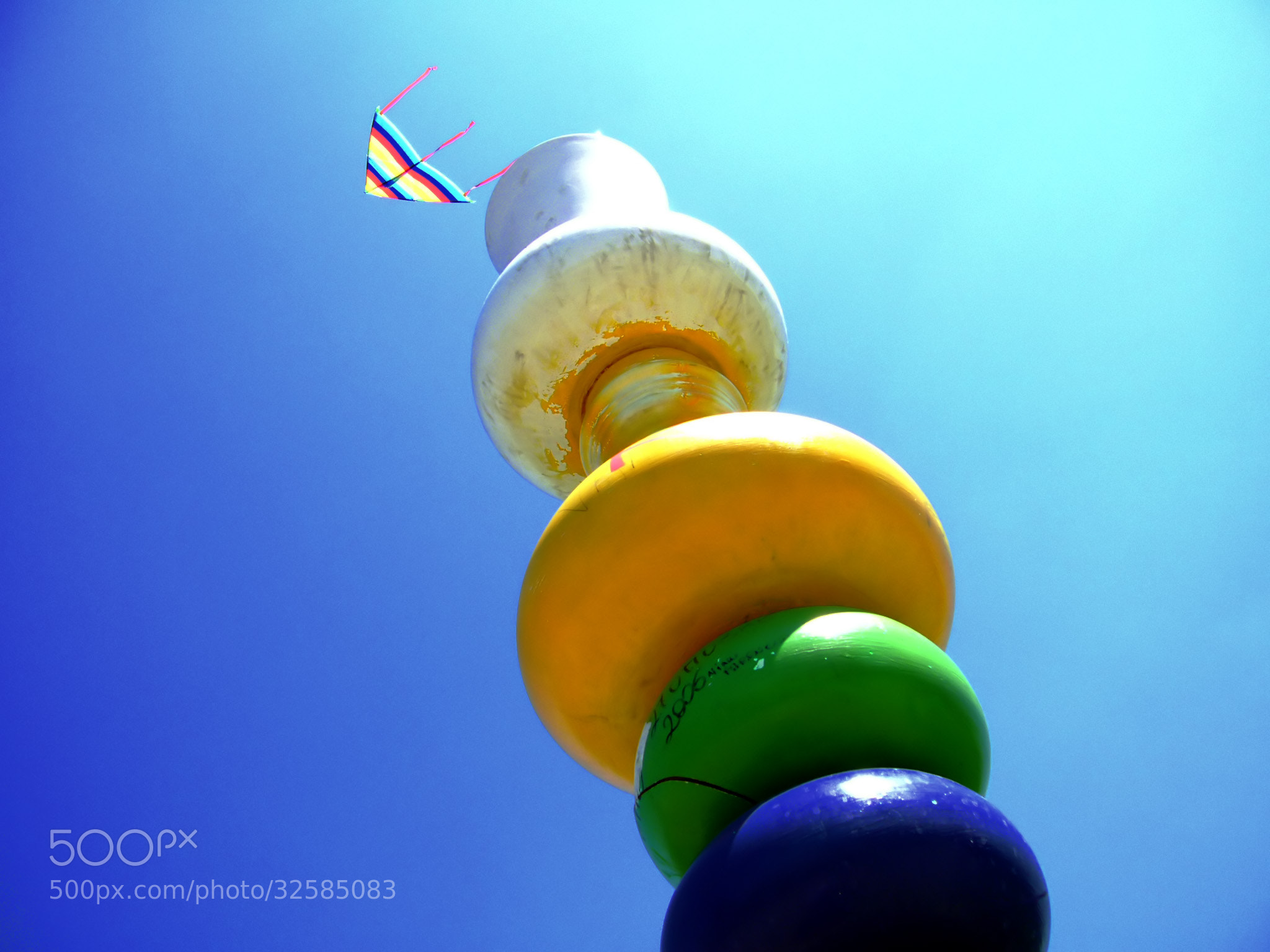 Photograph Kite Flying and Blue Sky by Rax Mex on 500px